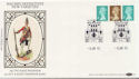 1985-01-08 Definitive Booklet Stamps London SW1 FDC (57422)