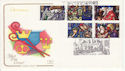 1992-11-10 Christmas Stamps Cambridge FDC (66760)