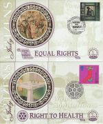 1999-07-06 Citizens Tale Stamps x4 Benham Silk FDC (75592)