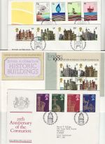 1978 Bulk Buy x7 First Day Covers with Bureau Pmks (75605)