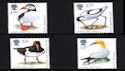 1989-01-17 SG1419/22 RSPB Birds Stamps MINT Set