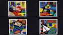 1989-05-16 SG1436/9 Games and Toys Stamps MINT Set