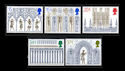 1989-11-14 SG1462/6 Christmas Ely Cathedral Stamps MINT Set