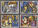 1992-11-10 SG1634/8 Christmas Stamps Used Set (15477)