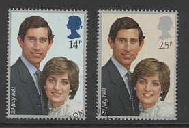 royal Wedding Stamps 1981