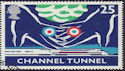 1994-05-03 SG1821 25p Channel Tunnel Stamp Used (23436)