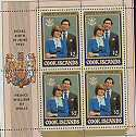 1981 Cook Islands Royal Wedding optd Royal Birth (19315)