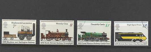 Public Railways Stamps 1975