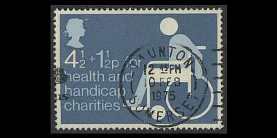 Charity Stamp 1975