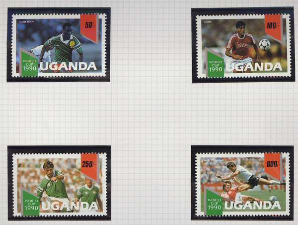 Uganda Football Set (3055)