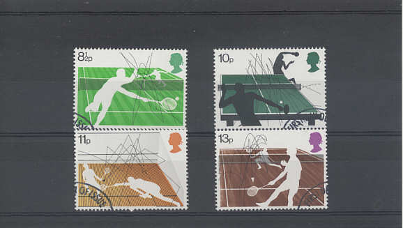 Racket Sports Stamps 1977