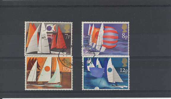Sailing Stamps 1975
