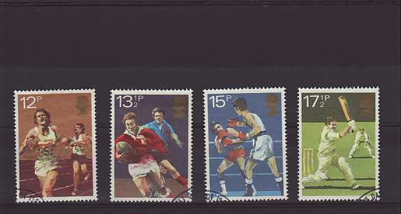 sport centenaries Stamps 1980