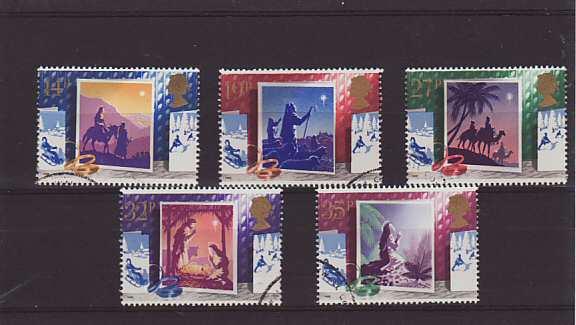 Christmas Stamps 1988