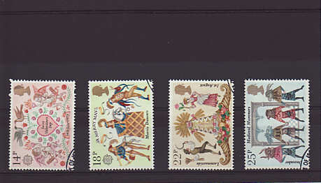 Folklore Stamps 1981