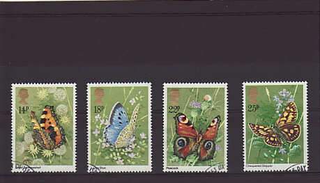butterflies Stamps 1981