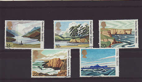 National Trust Stamps 1981
