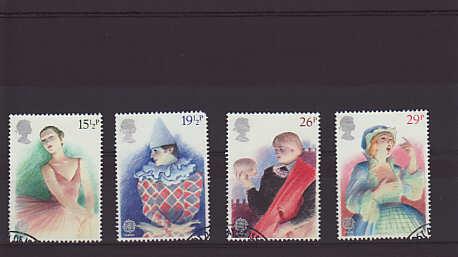Europa British Theatre Stamps 1982