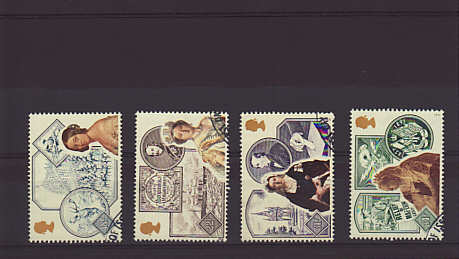 Victorian Britain Stamps 1987