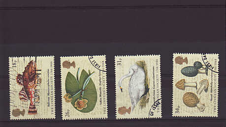 Linnean Society Stamps 1988