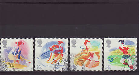 Sports Stamps 1988