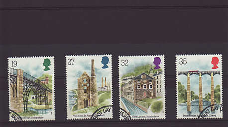Industrial Archaeology Stamps 1989