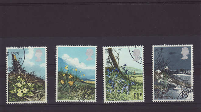 Spring Wild Flowers Stamps 1979