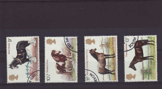 Horses Stamps 1978
