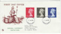 1970-06-17 Definitive High Values Windsor FDC (44882)