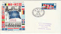 1969-04-02 NATO HQ BF 1080 PS FDC (45032)