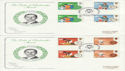 1981-08-12 Duke of Edinburgh Award Gutters FDC (45176)