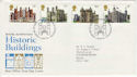 1978-03-01 Historic Buildings BUREAU FDC (45433)