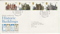 1978-03-01 Historic Buildings London EC FDC (45436)