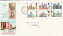 1969-05-28 Cathedrals Stoke Fleming cds FDC (45566)