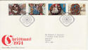 1974-11-27 Christmas Stamps Bethlehem FDC (45584)