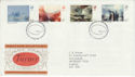 1975-02-19 British Painters BUREAU FDC (45607)