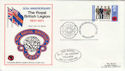 1971-08-25 British Legion Maidstone Official FDC (45792)
