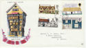 1970-02-11 Rural Architecture Dartmouth cds FDC (45854)