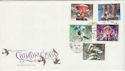 1983-11-16 Christmas Stamps Commons SW1 cds FDC (45889)