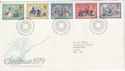 1979-11-21 Christmas Stamps Bethlehem FDC (45949)