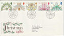 1980-11-19 Christmas Stamps Bethlehem FDC (45950)