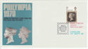 1970-09-24 Philympia Great Britain Day London Pmk (46361)