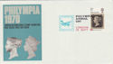 1970-09-19 Philympia Airmail Day London Pmk (46365)