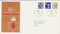 1983-04-27 N Ireland Definitive Belfast FDC (46564)