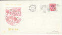 1969-02-26 Wales Definitive FDC (46584)