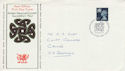 1974-11-06 Wales Definitive Cardiff FDC (46724)
