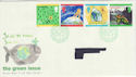 1992-09-15 Green Issue Bureau FDC (46820)