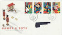 1989-05-16 Games and Toys Bureau FDC (46916)