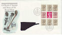 1983-09-14 Royal Mint Bklt Pane Bureau FDC (46977)