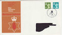 1976-01-14 N Ireland Definitive Bureau FDC (47000)